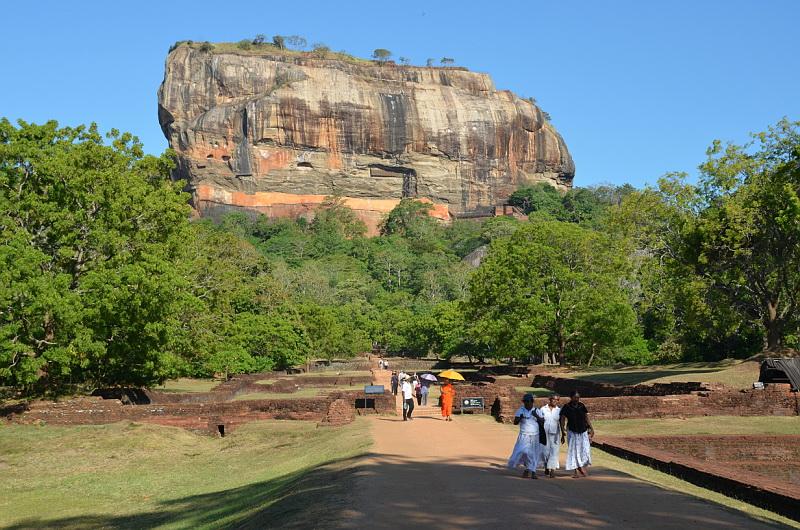 Srí Lanka a Lví skála Sigiriya