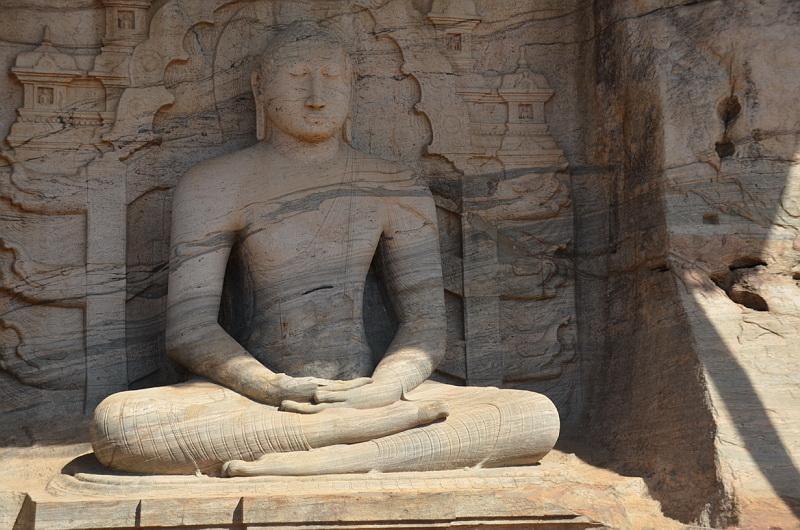 Pollonaruwa a jedinečná vyobrazení Buddhy