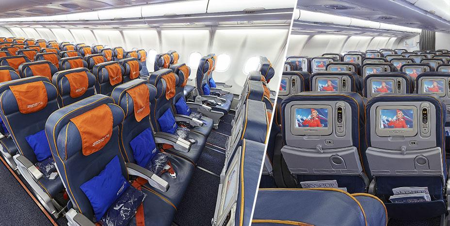 Ekonomická třída společnosti Aeroflot