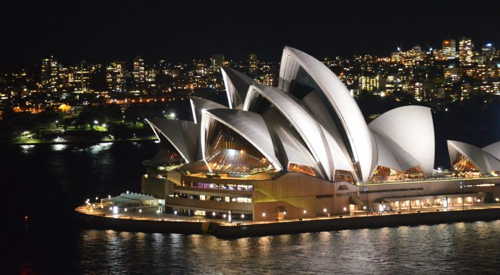 Sydney je nádherné město