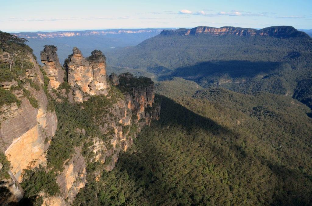 Národní park Blue Mountains poblíž Sydney
