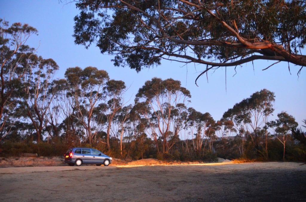 V Austrálii jsme koupeným autem najeli přes 22 tisíc kilometrů
