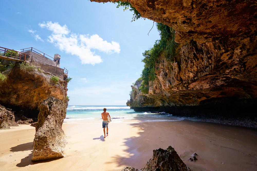 Pláž na Bali