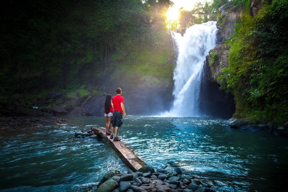 Vodopád na Bali