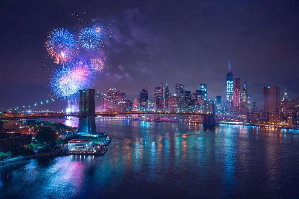 Nový rok v New Yorku