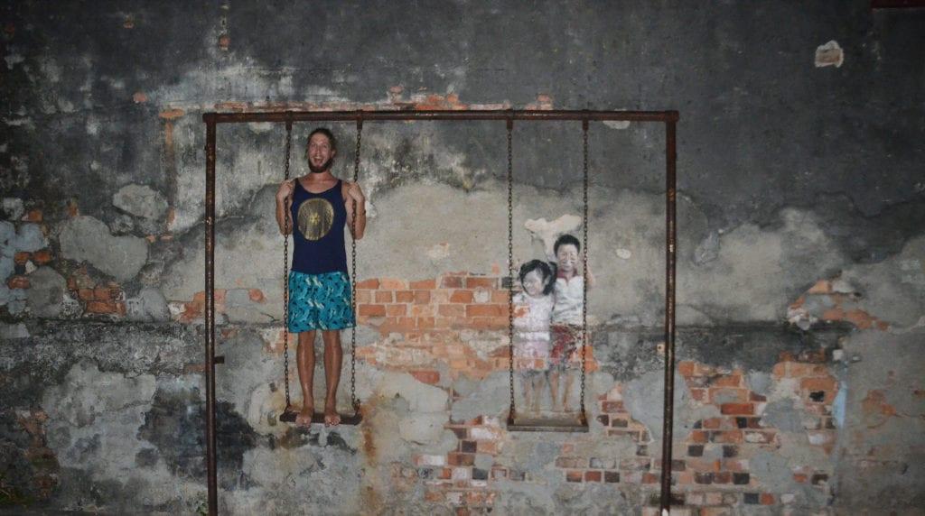 Vítej v Penangu - městě umělců