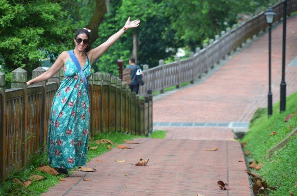 V Singapuru je mnoho parků a zeleně