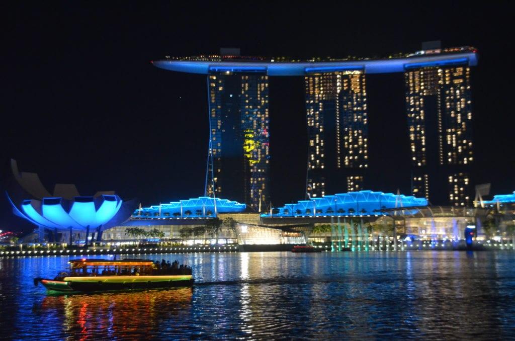 Vyhlášení hotel Marina Bay Sands