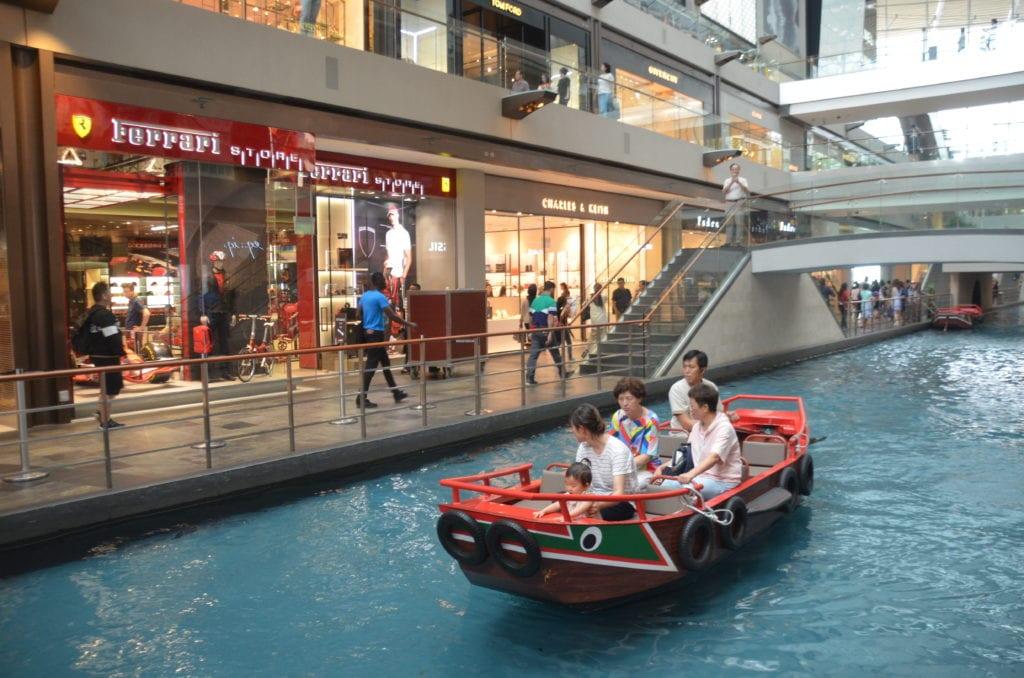 Obchodní centrum v Singapuru