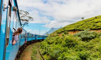 Cesta vlakem na Srí Lance