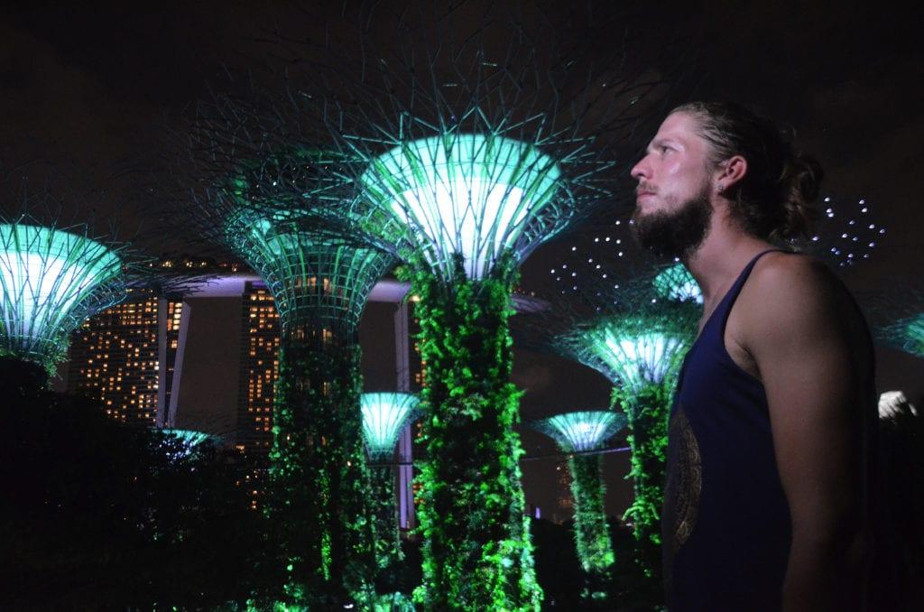 Super stromy budoucnosti v Gardens by the Bay