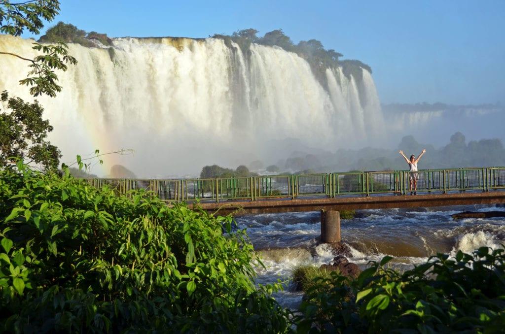 Výhled z Brazílie