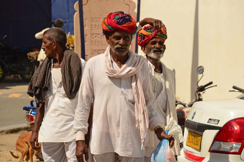 Rádžasthánu se setkáš s krásnou barevnou kulturou