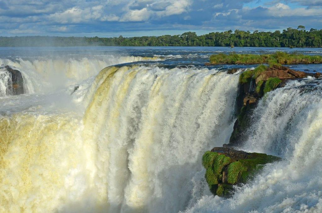 Největší vodopád Garganta del Diablo