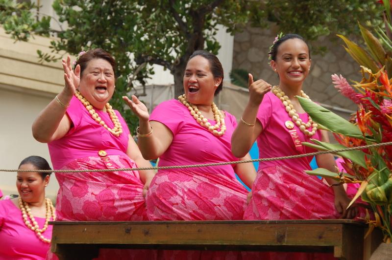 Vítej na Havaji! Je tu legrace!