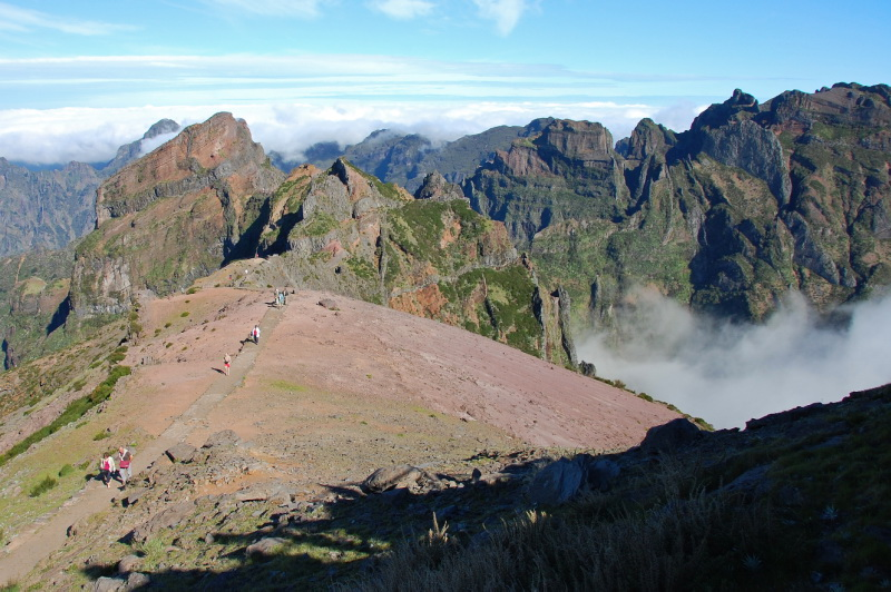 Horské treky na Madeiře
