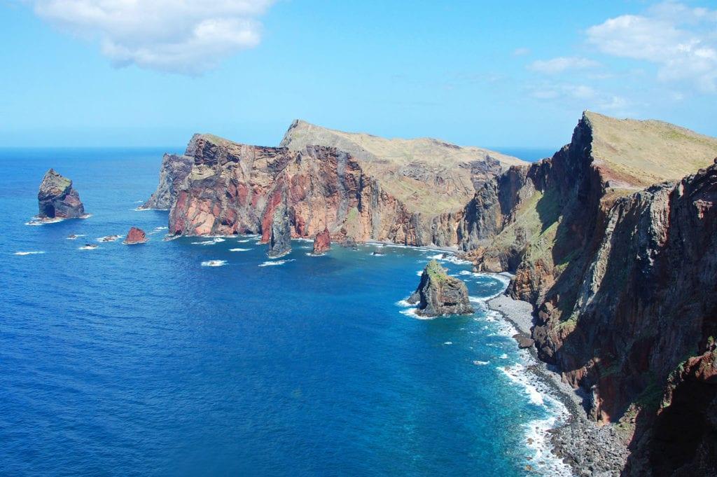 Výhled z Ponta de São Lourenço