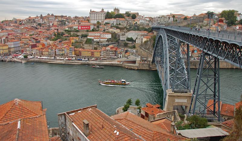 Most krále Ludvíka I. v Portu