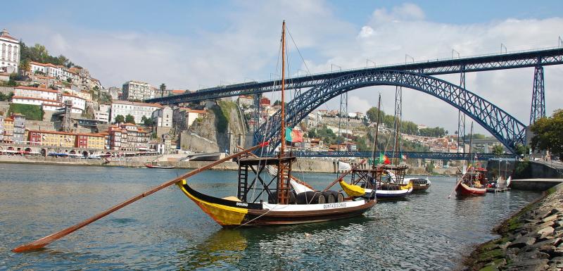 Porto je další krásné portugalské město
