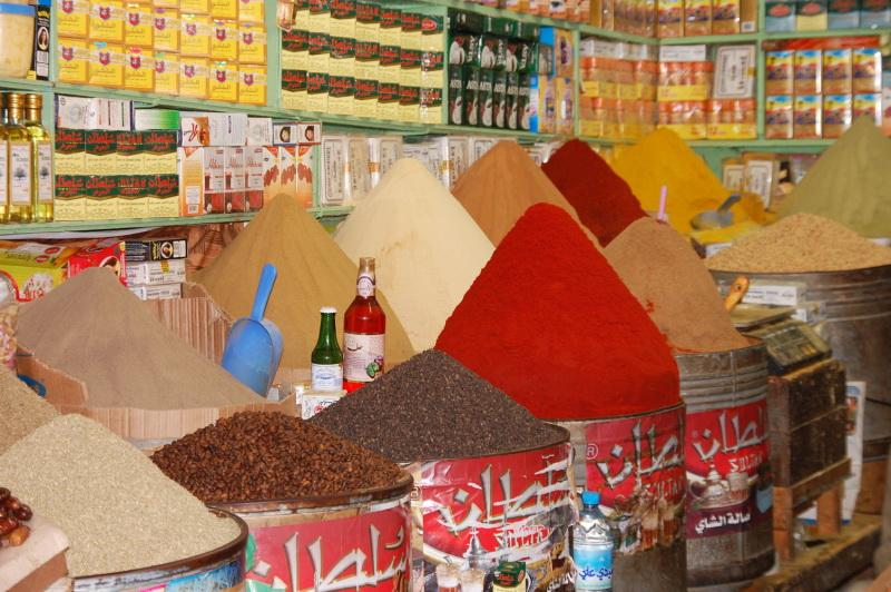 Maroko a nespočetné trhy