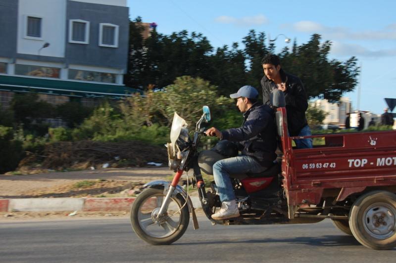 Provoz mimo centra velkých měst je zpravidla klidný