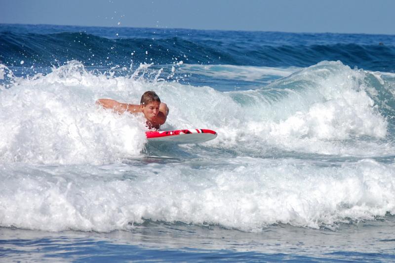 Ostrov má skvělé podmínky na surfování i další sporty