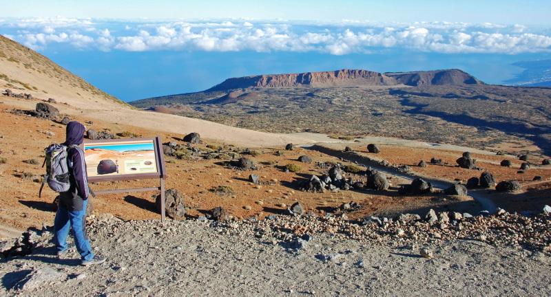 Treky v národním parku Teide na Tenerife