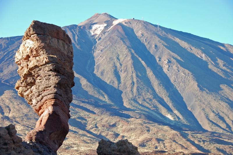 Nejvyšší hora Španělska - Pico del Teide