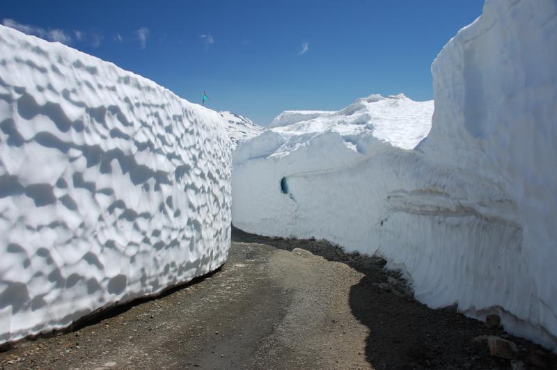 Sněhu je v Kanadě na horách dost i v létě