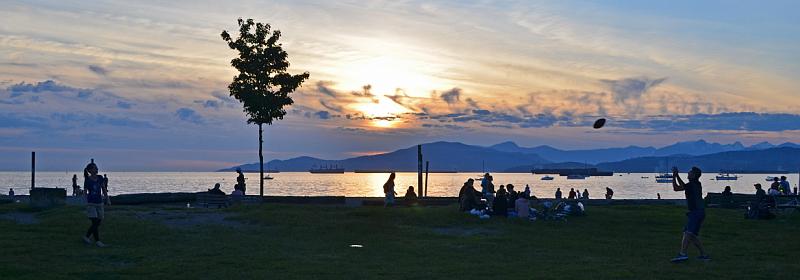Stanley park ve Vancouveru