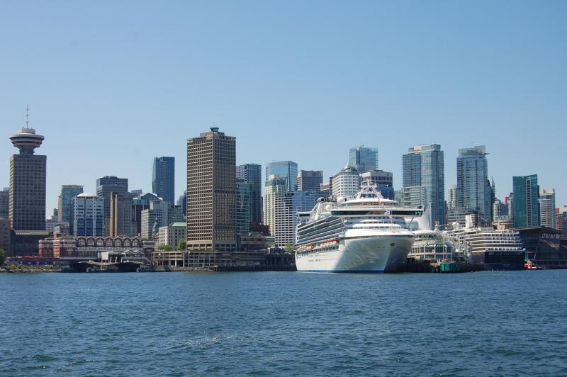 Přistání ve Vancouveru