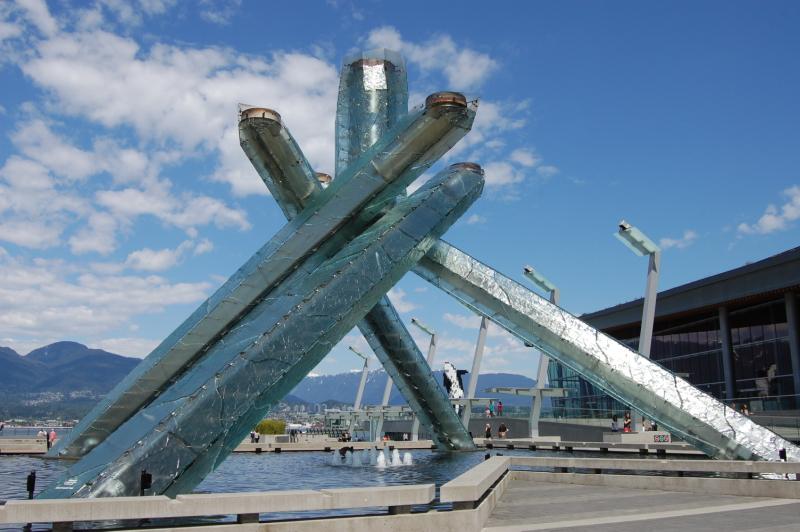 Olympijský oheň ve Vancouveru