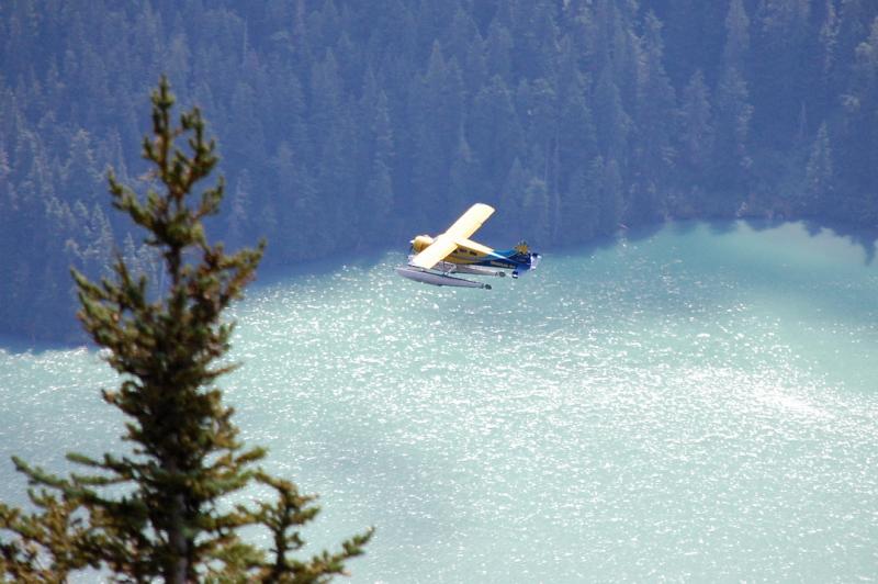 Krásná kanadská jezera