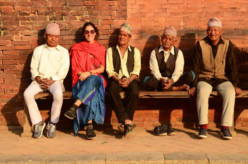 Nepálci v Káthmándú