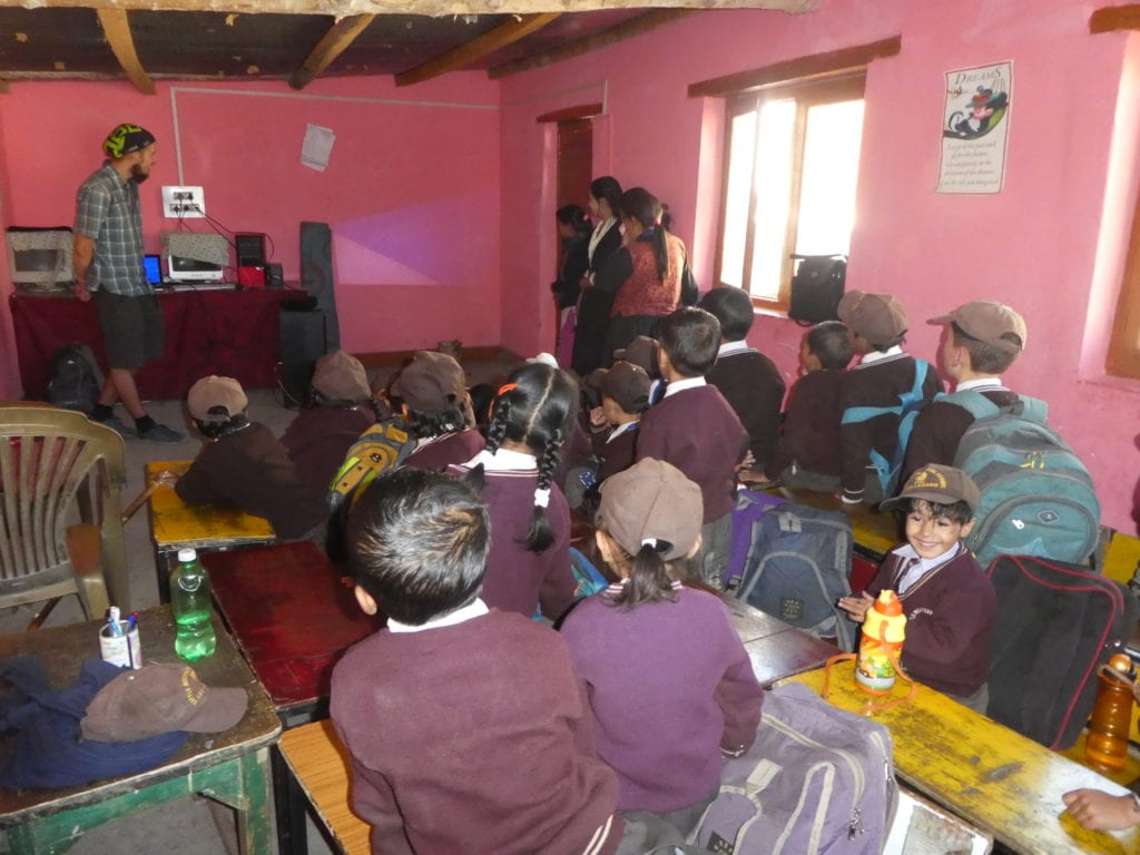 Nepál, Káthmándú, škola