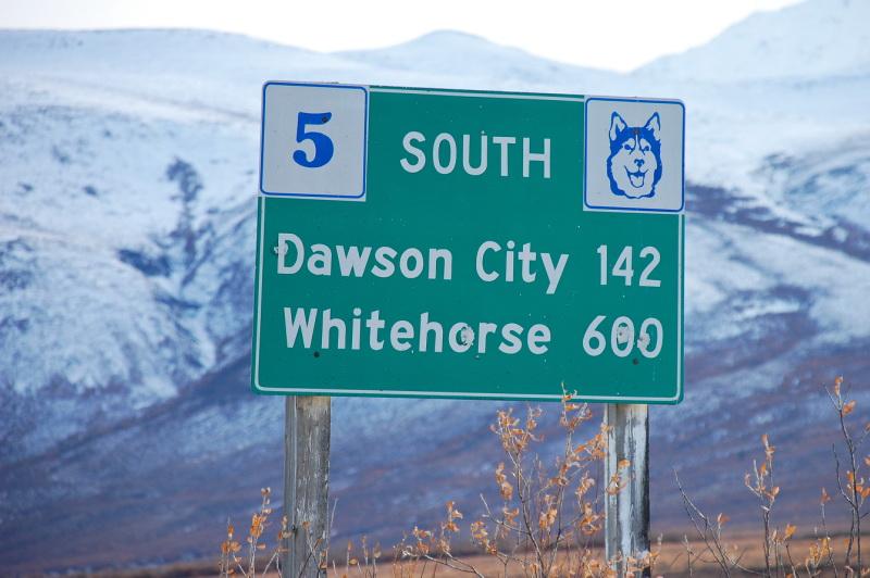 Vzdálenosti na Aljašce a Yukonu jsou obrovské