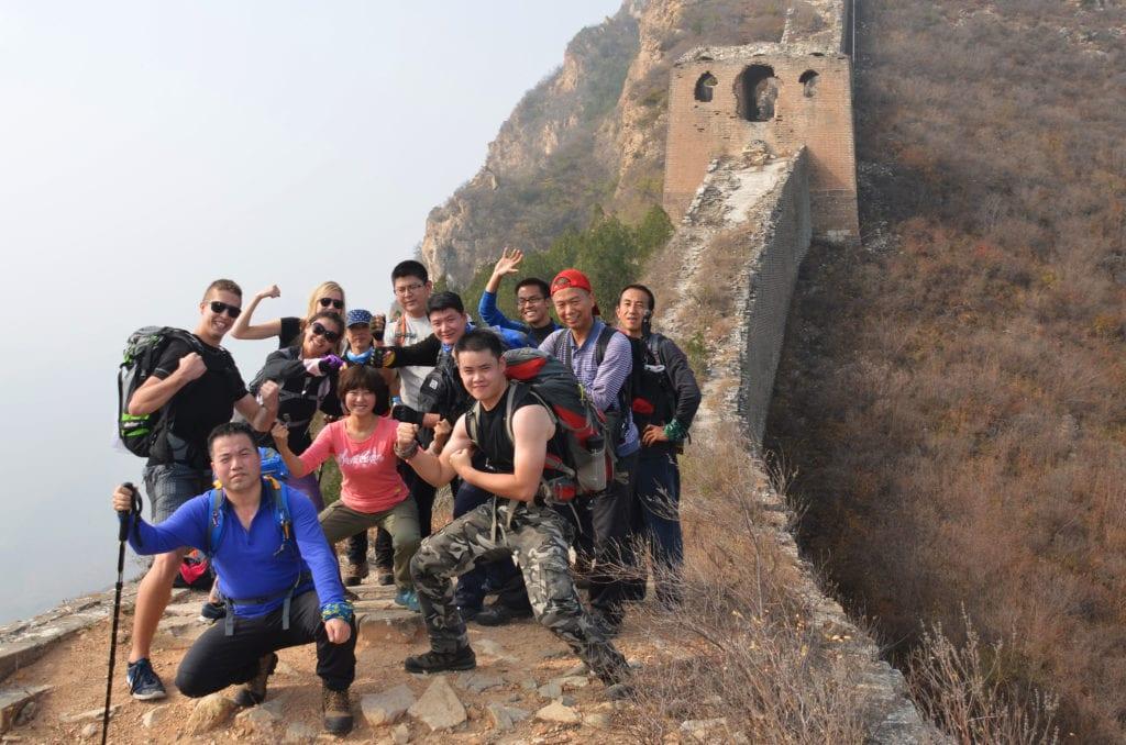 Nekomerční úsek Velké čínské zdi