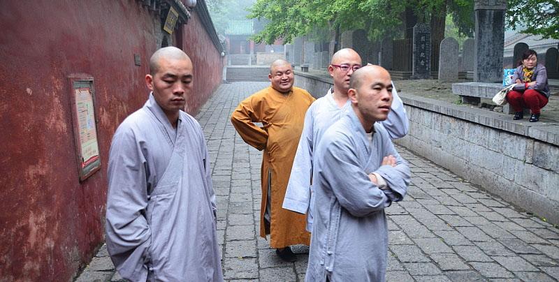 Mniši v Šaolinu
