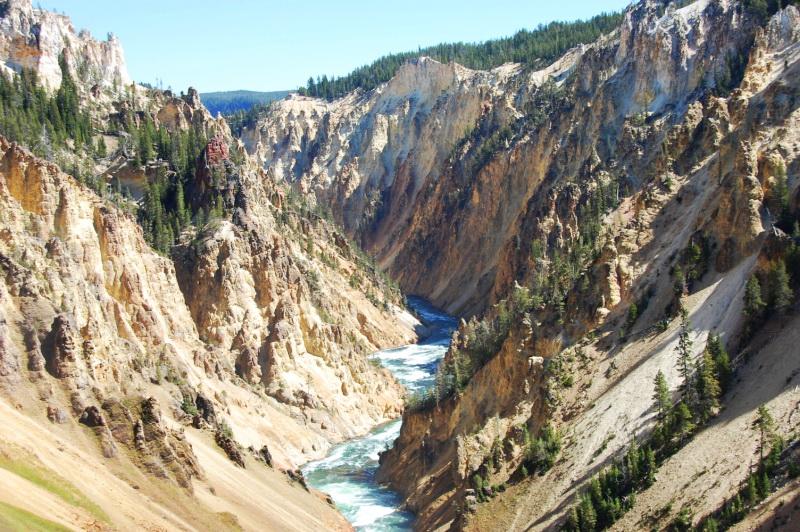Yellowstonský kaňon
