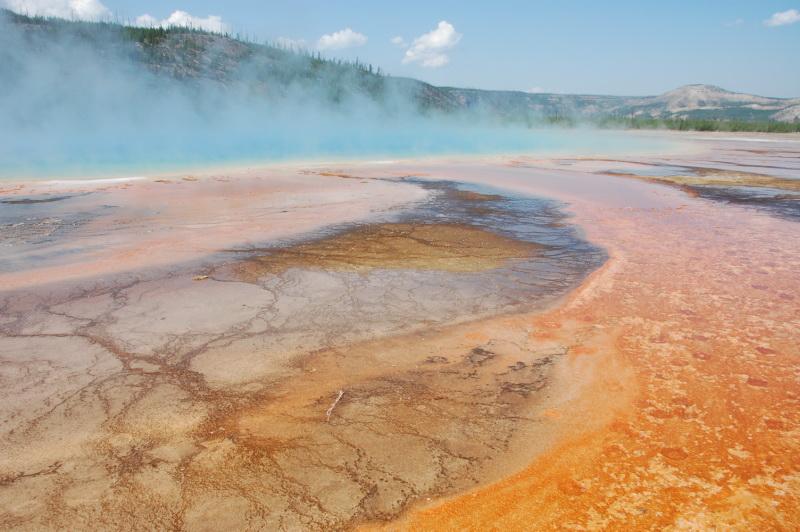 Sopečná činnost v Yellowstonu