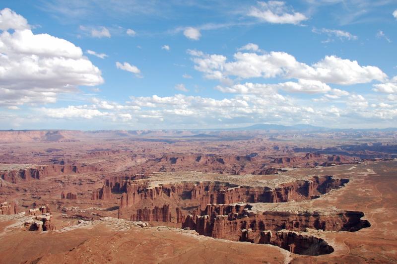 Canyonlands. Národní parky v Utahu berou dech