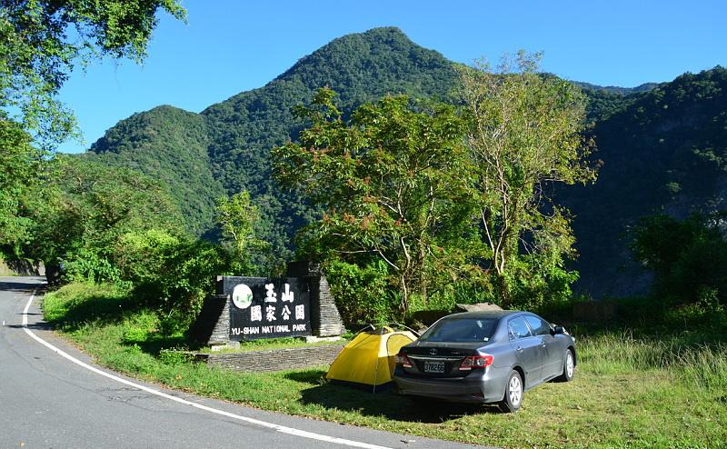 Na Tchaj-wanu jsme si půjčili auto, abychom dojeli do národních parků