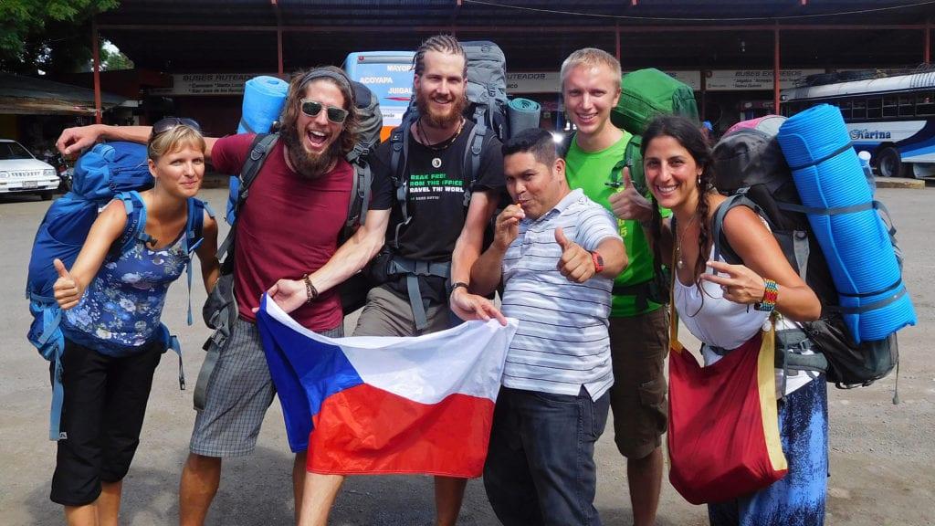 Češi a Nikaragua