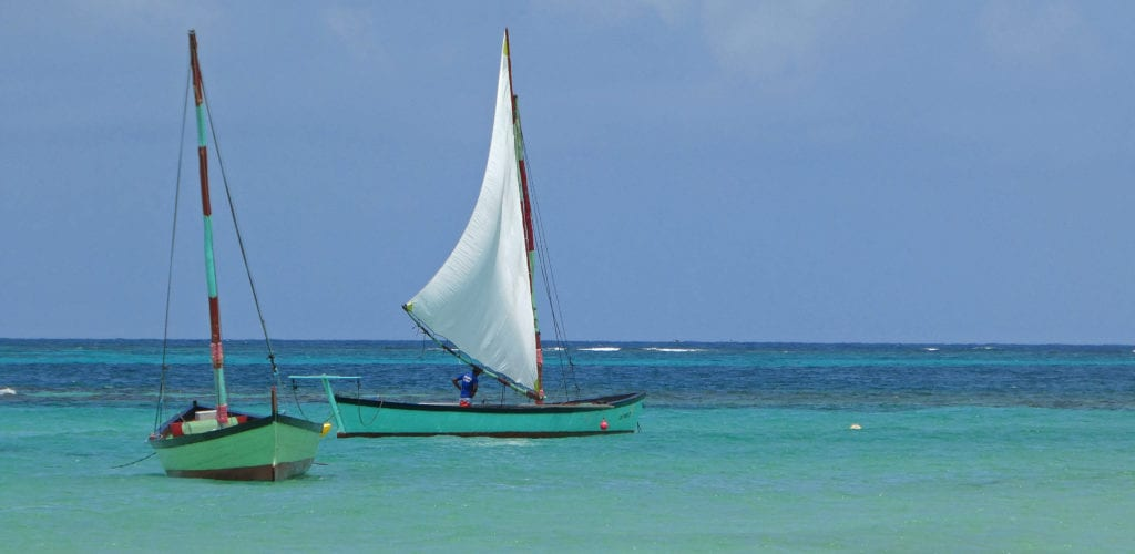 Nikaragua a úchvatná barva Karibského moře