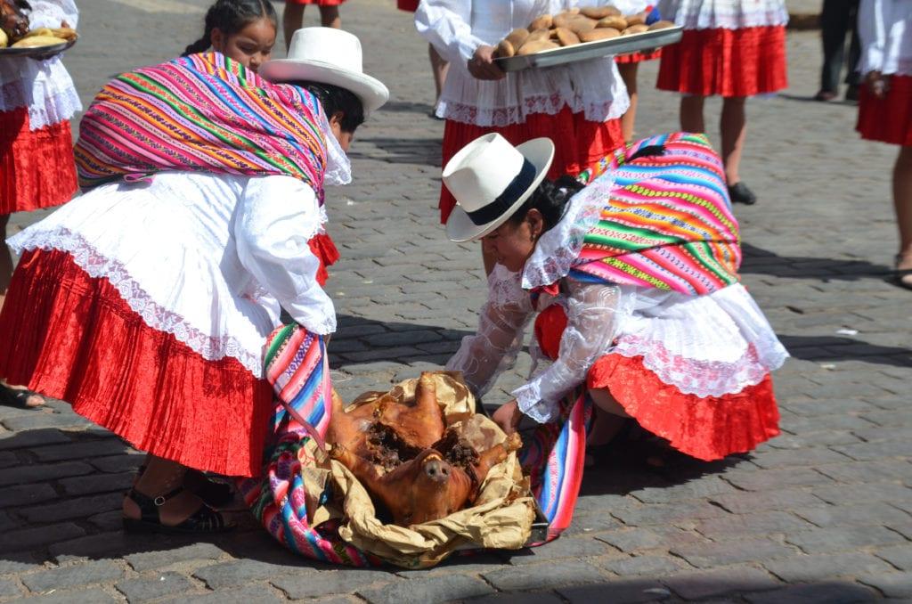 O jídlo není v Peru nikdy nouze!