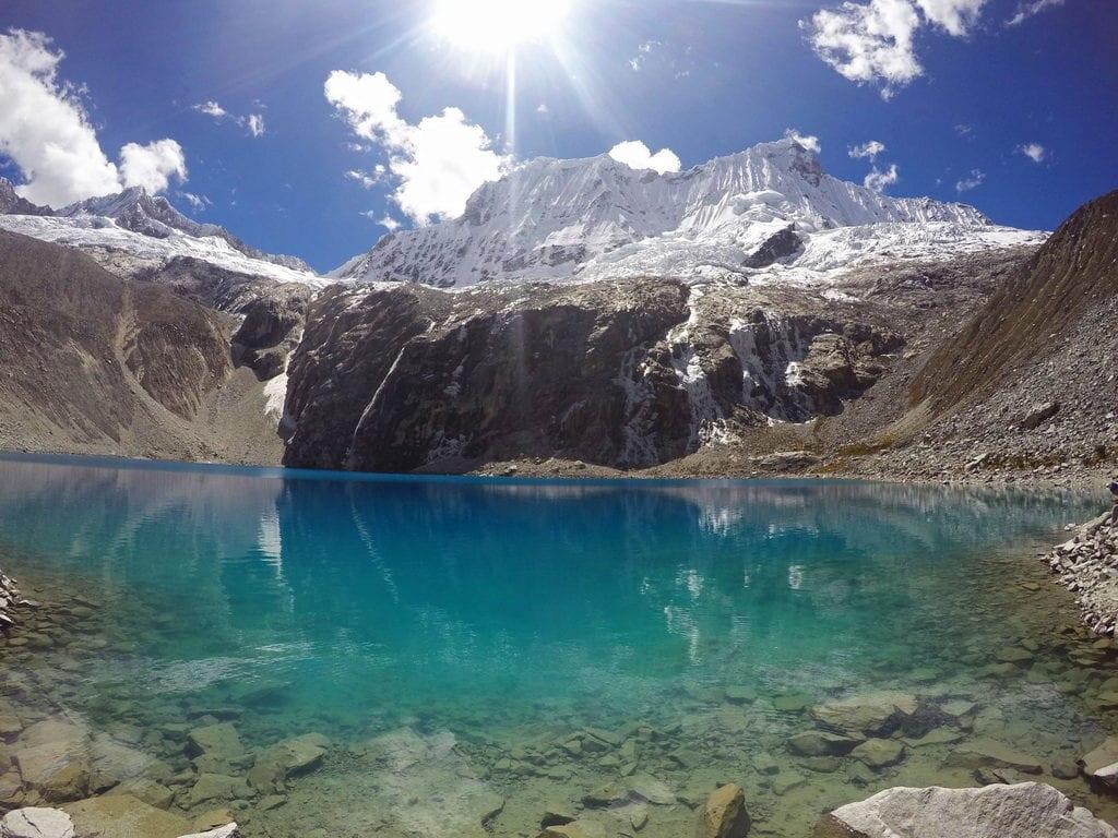 Další krásný peruánský trek a Laguna 69