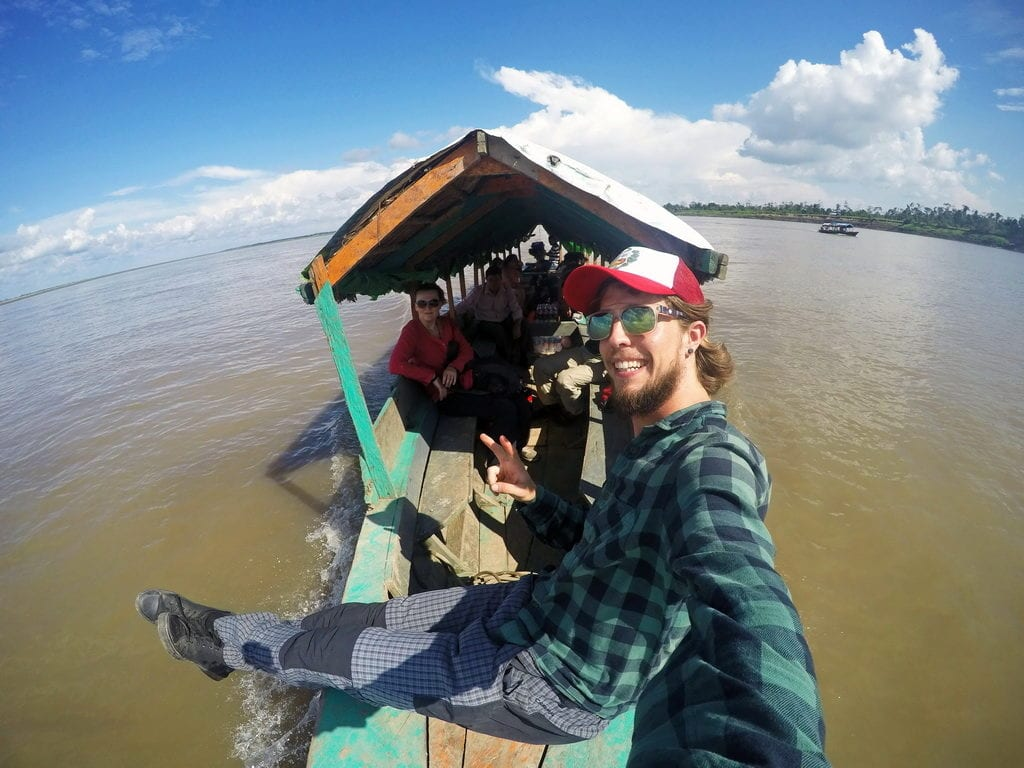 Plavba po Amazonce a hledání peruánského šamana