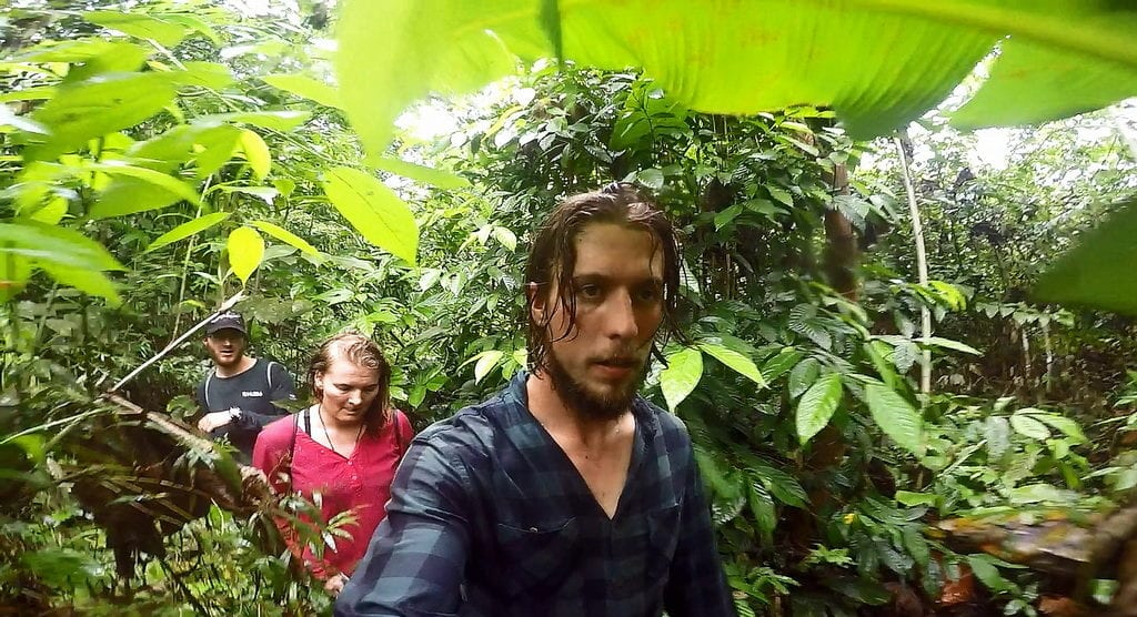 Prodíráme se pralesem u Iquitos