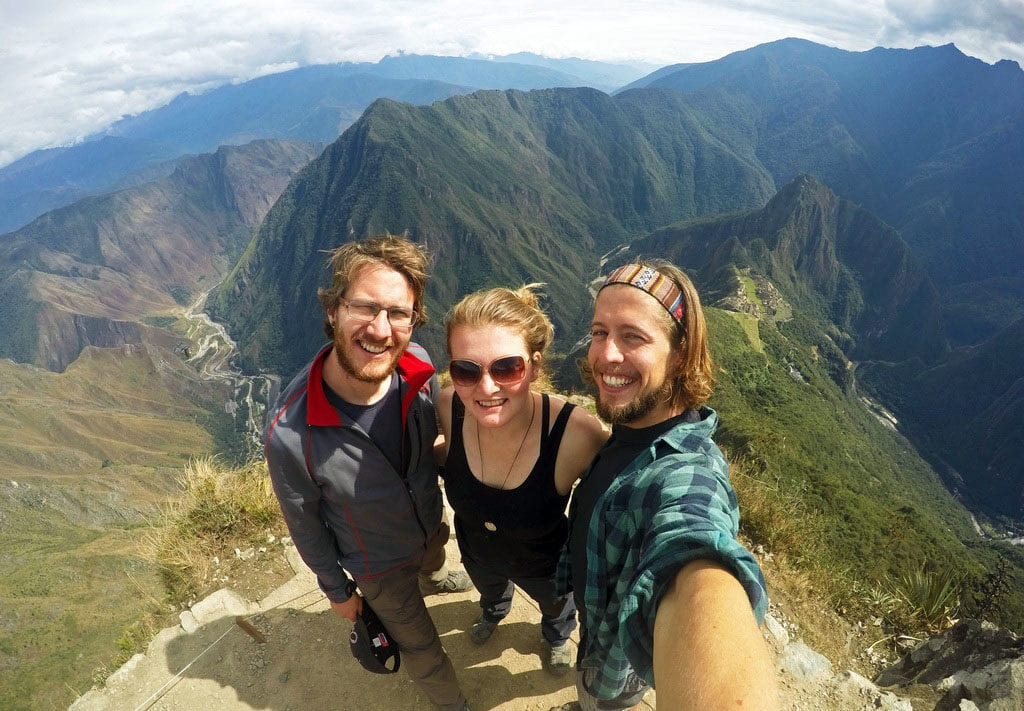 Výhled z Montaña Machu Picch je úchvatný