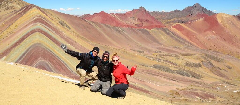 Kouzelné duhové hory v Peru
